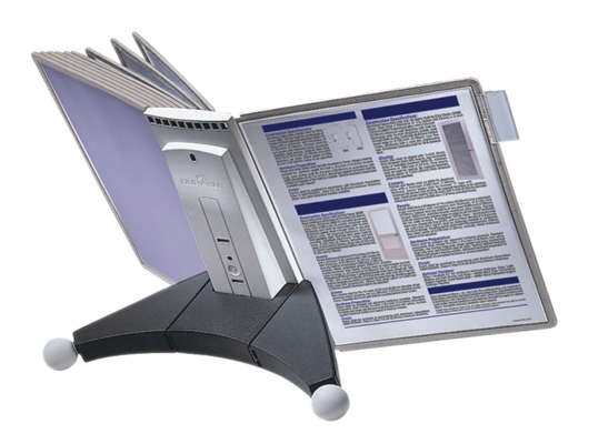 Sherpa Desk Durable Catalog Rack Reference System 5542